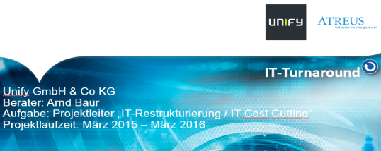 Case Study: IT-Kostensenkung beim Telekommunikationsanbieter Unify