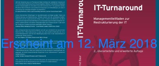 IT-Turnaround 2. Auflage in Vorbereitung
